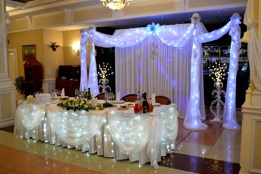 Как украсить ресторан на свадьбу