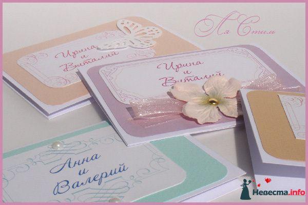 Свадебные рассадочные  карточки  - фото 124196 Ля Стиль - цветы и подарки