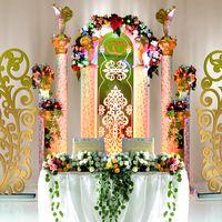 Свадебные декорации в Императорском стиле
