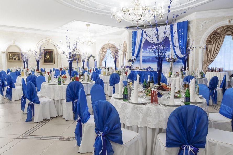 Оформление свадебного зала - фото 1279543 «Пятое время года» – флористическое оформление