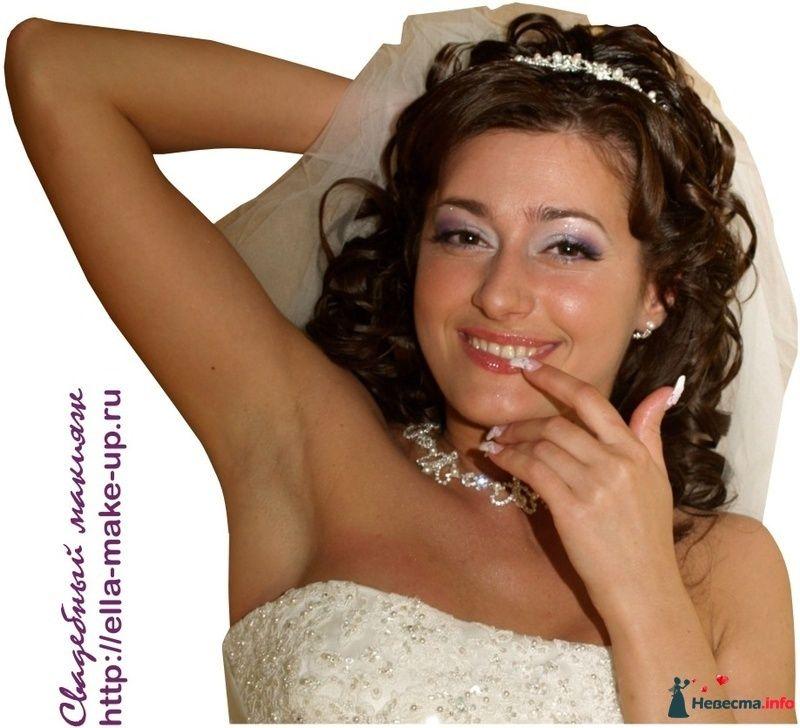 свадебный макияж в Курске - визаж Элла Панькова - фото 125222 Визажист Панькова Элеонора