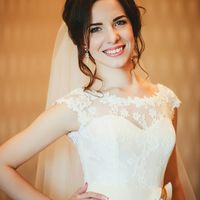 Очаровательная Елена, наша невеста, в свадебном платье Нола, бренд KOOKlA