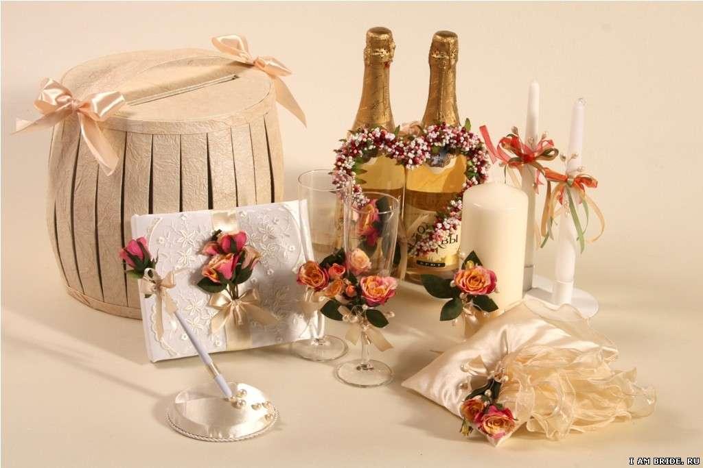 Украшения зала и подушечка для колец - фото 1038039 Мастерская Лу-Лу - свадебные аксессуары