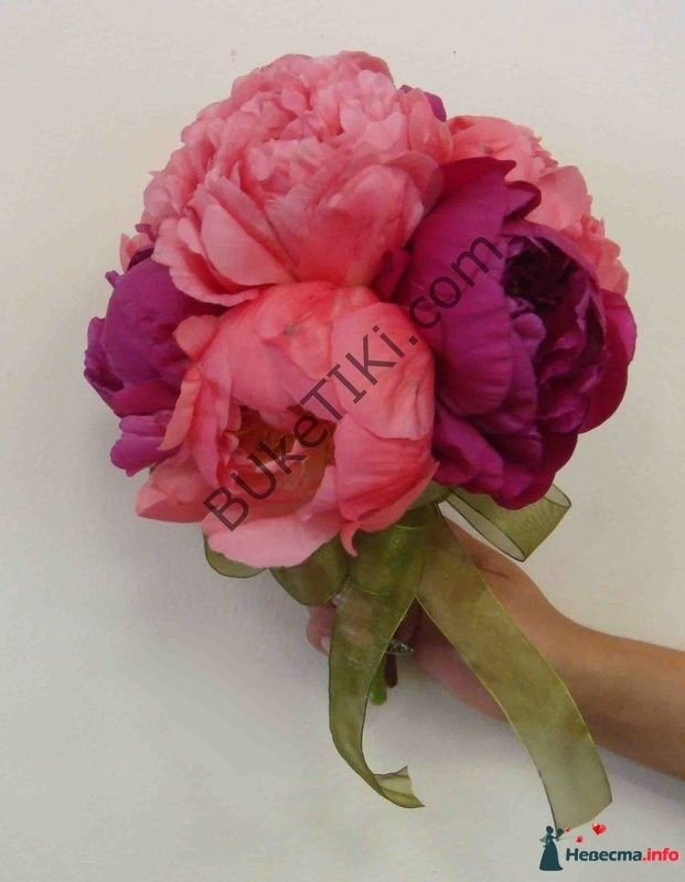 """Пионы - фото 121396 """"Цветочный бутик"""" - студия флористов"""