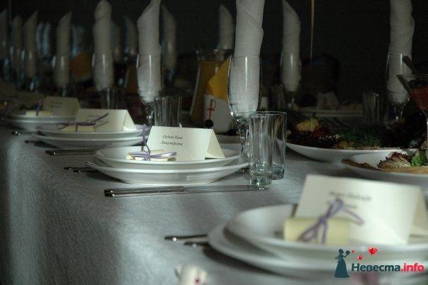 Рассадочные карточки для гостей (19.09.2009, Калининград) - фото 112402 Алена Рогачикова