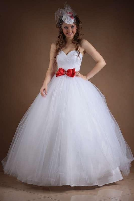 Свадебные платья с фатина