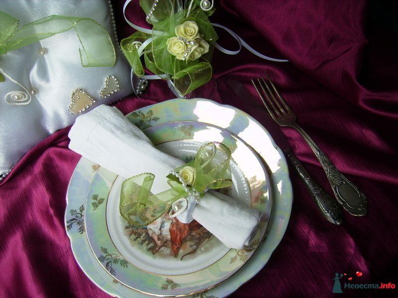 украшение на салфетки - фото 121516 Невеста01
