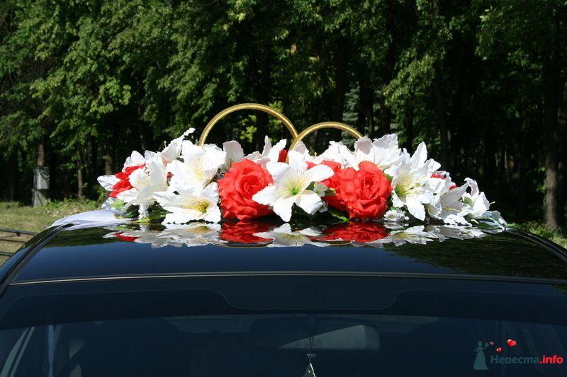 """Фото 116338 в коллекции Украшения на автомобили. - Свадебное агентство """"Мечта"""""""
