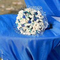 Альтернативный букет невесты. Морская тематика.