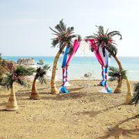 Выездная церемония в гавайском стиле. Кипр.
