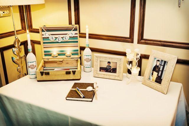 Стол для свадебных подарков