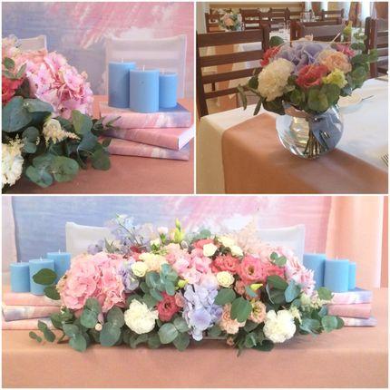 Декор свадьбы - Розовый кварц и безмятежность
