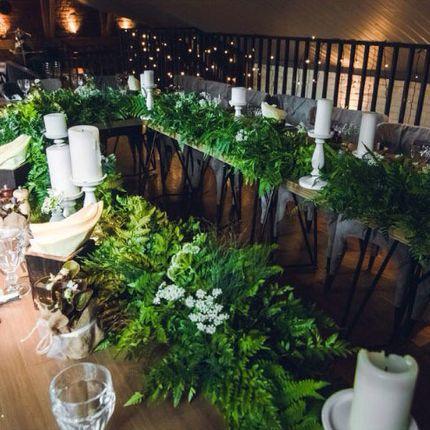 Оформление столов для гостей