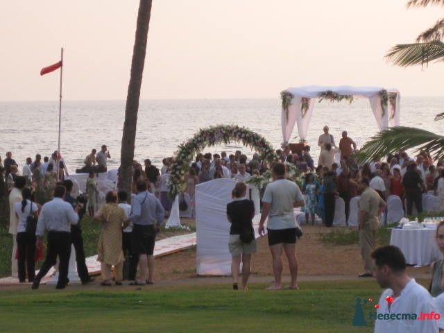 Свадебная церемония в Гоа (Индия), отель Intercontinental - фото 116968 Туристское агентство «Гранд тревел»
