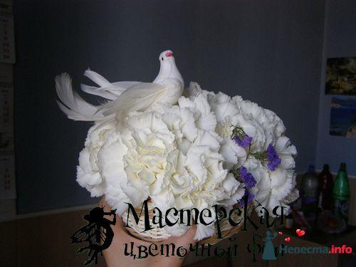 """композиция """"Голубь Мира"""" - фото 121681 Мастерская цветочной феи - цветы"""