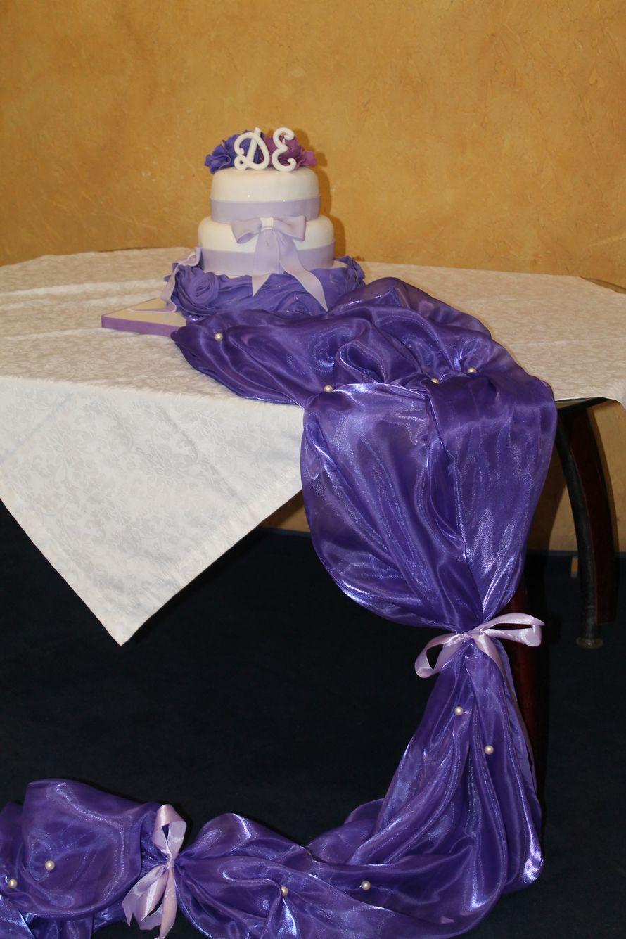 Фото 1117907 в коллекции Мои фотографии - Иннэсса - свадебные торты из мастики