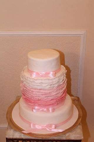 Фото 1134749 в коллекции торты - Иннэсса - свадебные торты из мастики