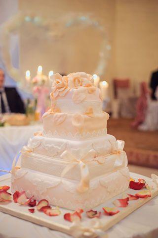 Фото 1407039 в коллекции торты - Иннэсса - свадебные торты из мастики