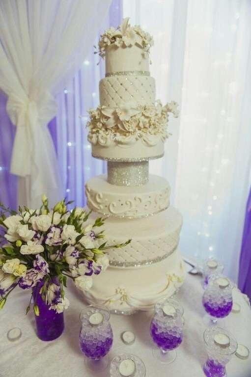 Фото 10195312 в коллекции торты - Иннэсса - свадебные торты из мастики