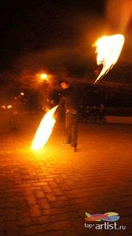 "Фото 1227591 в коллекции Мои фотографии - Театр огня ""Мидгард"" - фаер-шоу"