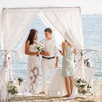 Европейская свадебная церемония в Таиланде