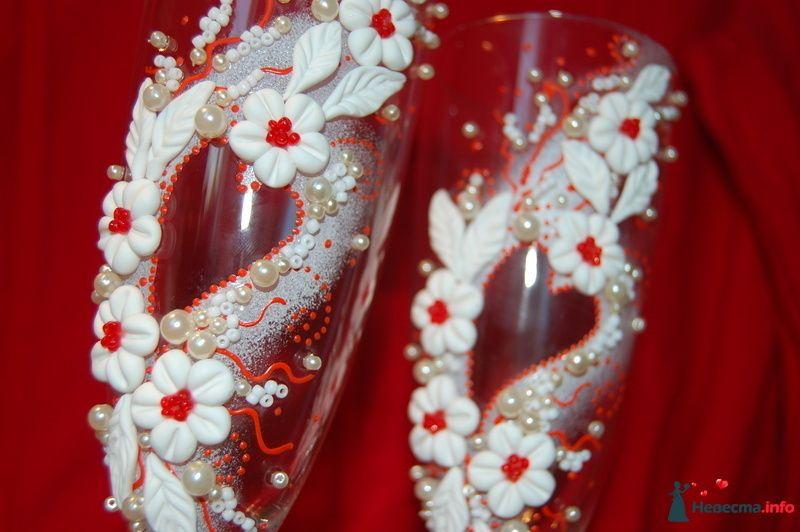 Фото 131074 в коллекции Свадебные бокалы с лепкой!!!!