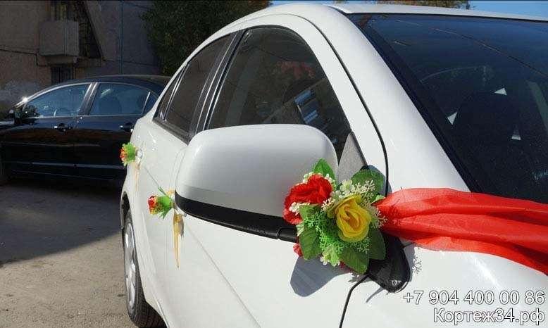 Фото 1142069 в коллекции Украшения на машины ручной работы - Свадебный кортеж 34Ф