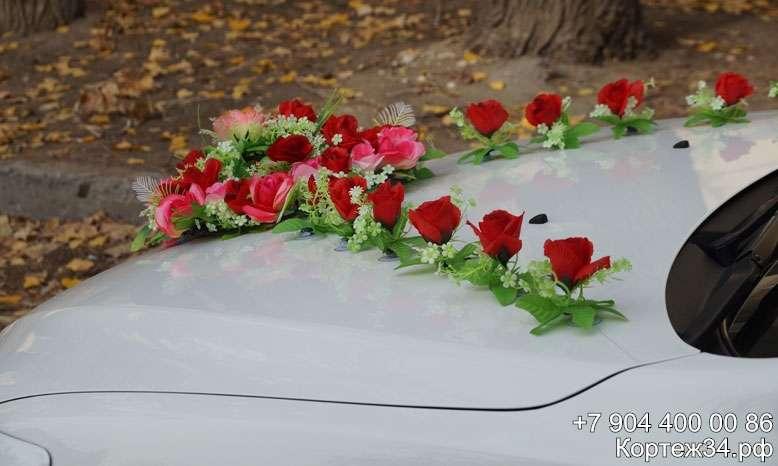 Фото 1142075 в коллекции Украшения на машины ручной работы - Свадебный кортеж 34Ф