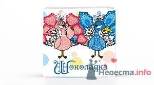 Фото 12294 в коллекции Свадебные шоколадки - Foxysu - приглашения на свадьбу