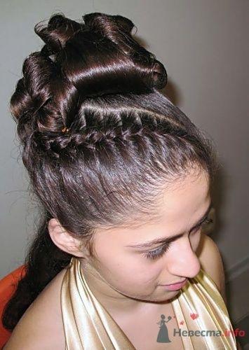 """Свадебная прическа 3 - фото 17726 Студия волос """"Монро"""""""