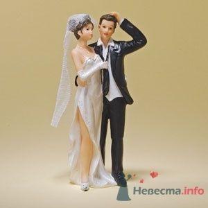 """Свадебные фигурки на торт - фото 10577 """"Бар-О-Белл"""" - кондитерские изделия"""