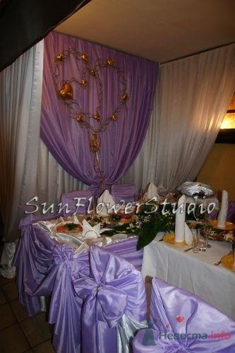 Фото 10607 в коллекции Свадьба в сиреневых тонах. - SunFlowerStudio - стильное оформление торжеств