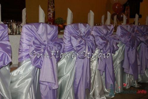 Фото 10608 в коллекции Свадьба в сиреневых тонах. - SunFlowerStudio - стильное оформление торжеств