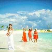 свадебная фотосессия на пляже элитного компллекса Марина в Доминикане