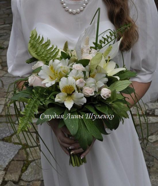 Букет невесты в стиле рустик. Рустикальная свадьба в Крыму.