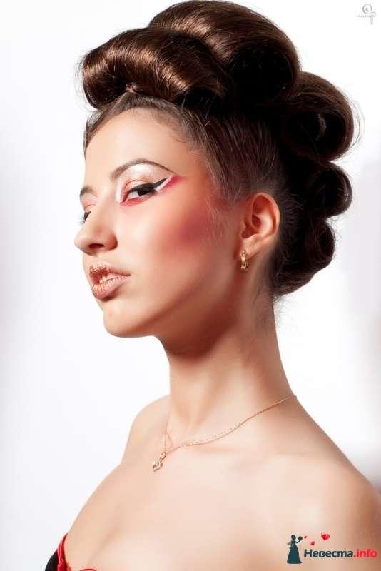 фантазийные валики - фото 124730 Свадебный стилист Марина Комарова