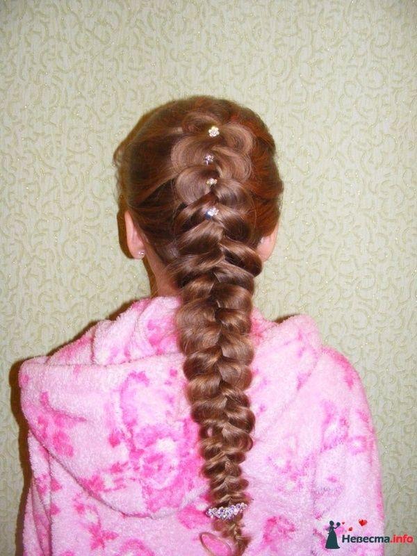 коса - фото 124735 Свадебный стилист Марина Комарова