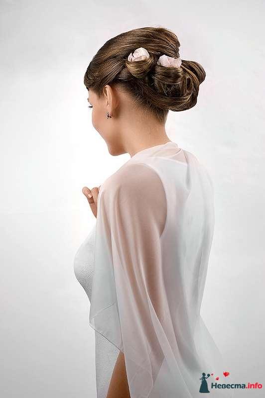 Фото 123760 в коллекции Невесты. Прическа и макияж. - Свадебный стилист - Кулагина Марина