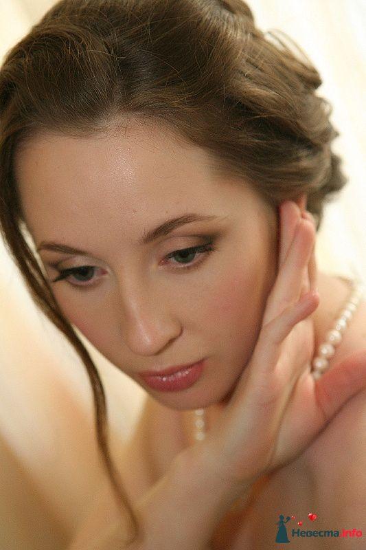 Фото 123763 в коллекции Невесты. Прическа и макияж. - Свадебный стилист - Кулагина Марина