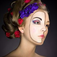 Маска... Прическа и макияж - Марина Кулагина.