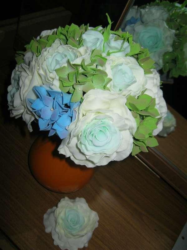 """букет невесты - фото 10419332 Мастерская аксессуаров """"У Натальи"""""""