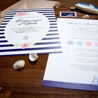 Свадебные приглашения для агентства  Все рисунки (розы, парусник) и дизайн сделала Анна Масленникова, владелица