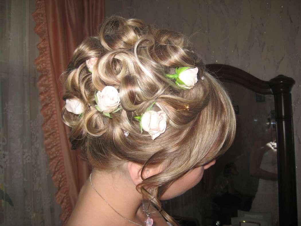 Прически ромашка из волос фото