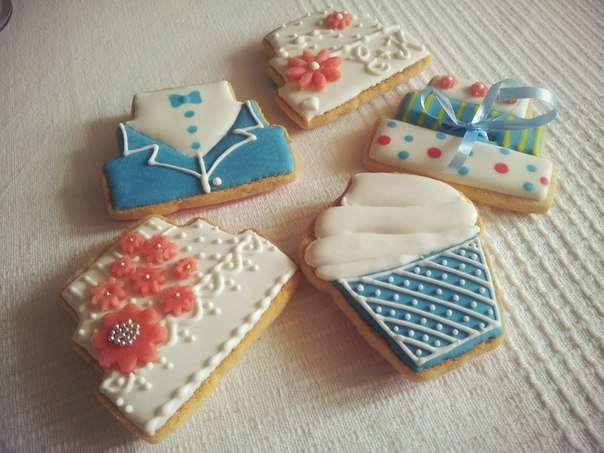 Фото 1209445 в коллекции Мои фотографии - Ма Бейкер - свадебное печенье, торты, сладкий стол