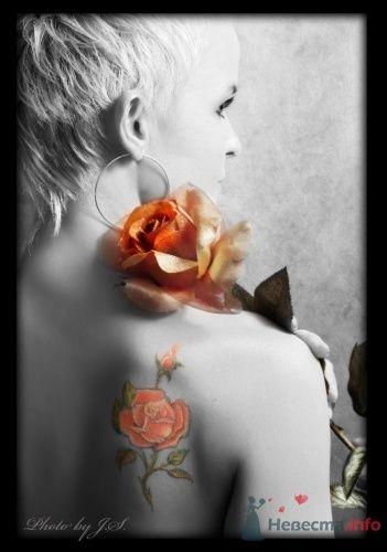 Мария и роза - фото 11520 Студия Творческой Фотографии