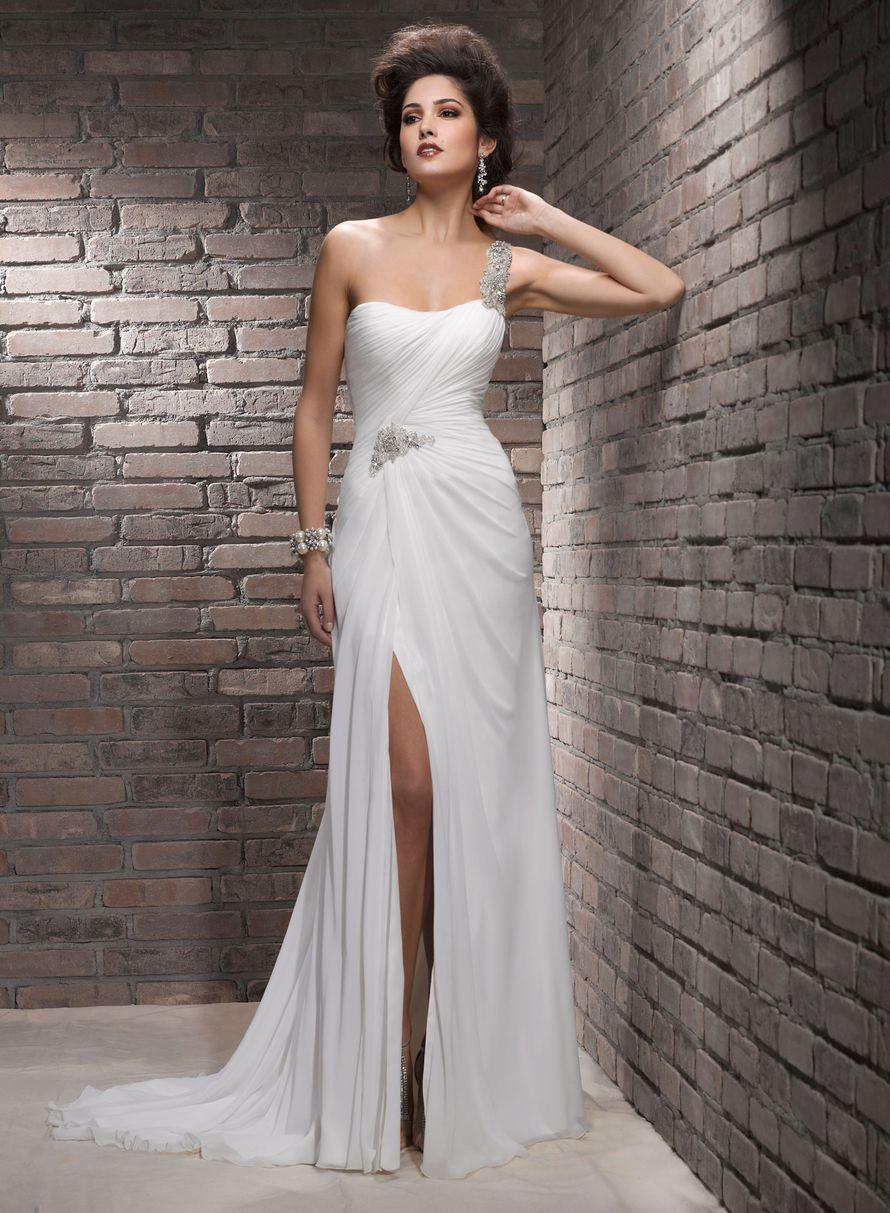Платья свадебные с открытыми ногами