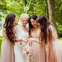 Невеста и её подружки