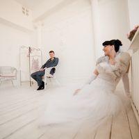 Невеста, свадьба, большой зал