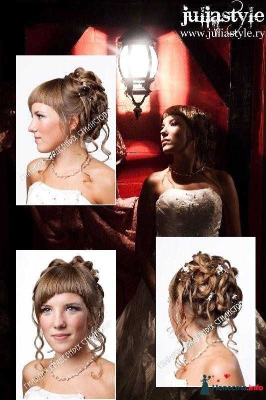 Фото 131845 в коллекции Фотографии свадебных причесок - Свадебный стилист Юлия Зайченко
