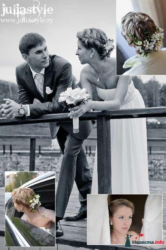 Фото 131847 в коллекции Фотографии свадебных причесок - Свадебный стилист Юлия Зайченко